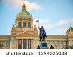 prague  czech republic   18.01... | Shutterstock . vector #1294025038