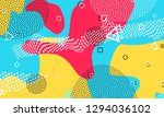 abstract colour pattern. splash ... | Shutterstock .eps vector #1294036102