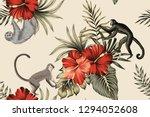 Tropical Vintage Botanical Pal...