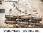 anti tank guided missile on... | Shutterstock . vector #1294069588