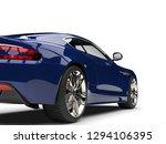 Deep Blue Modern Luxury Sports...