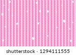vector background with hearts... | Shutterstock .eps vector #1294111555