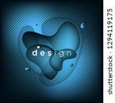 abstract background  gradient... | Shutterstock .eps vector #1294119175