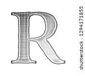 grunge ink metallic silver...   Shutterstock . vector #1294171855