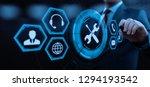 technical support customer...   Shutterstock . vector #1294193542