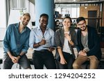 young and successful business... | Shutterstock . vector #1294204252