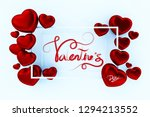 happy valentine's day for... | Shutterstock . vector #1294213552