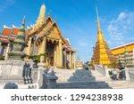 grand palace bangkok  wat phra...   Shutterstock . vector #1294238938