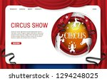 Circus Show Landing Page...