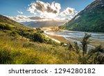 wandering in wilderness of mt.... | Shutterstock . vector #1294280182