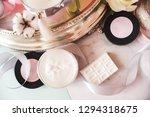 decorative cosmetics  pink... | Shutterstock . vector #1294318675