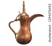 3d Rendering Of Arabic Teapot...