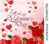 vector illustration of paper...   Shutterstock .eps vector #1294385788