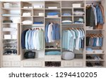 stylish clothes  shoes and home ... | Shutterstock . vector #1294410205