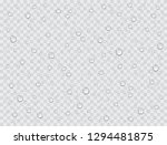 water rain drops or steam... | Shutterstock .eps vector #1294481875