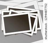 templates for photo  polaroid... | Shutterstock .eps vector #1294487752
