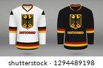 realistic hockey kit team... | Shutterstock .eps vector #1294489198