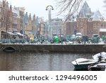 amsterdam  netherlands  ... | Shutterstock . vector #1294496005