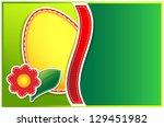 easter egg flower   Shutterstock .eps vector #129451982