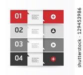 modern design template   can be ... | Shutterstock .eps vector #129453986