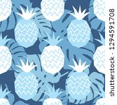 seamless pattern with... | Shutterstock .eps vector #1294591708