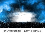 concert background with the... | Shutterstock . vector #1294648438