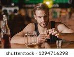 heavy drinking is bad.... | Shutterstock . vector #1294716298