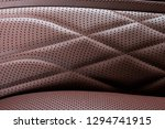 perforated leather texture... | Shutterstock . vector #1294741915