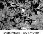 distressed background in black... | Shutterstock . vector #1294749985