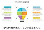 infographic design template... | Shutterstock .eps vector #1294815778