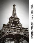 the eiffel tower  paris  france | Shutterstock . vector #129481706