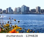 Halifax Harbour City Skyline - stock photo