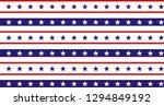 4th of july stars grunge... | Shutterstock .eps vector #1294849192