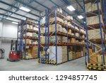 blur warehouse inventory... | Shutterstock . vector #1294857745