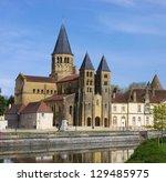 paray le monial sacre coeur | Shutterstock . vector #129485975