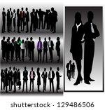 people | Shutterstock .eps vector #129486506
