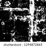 black and white grunge... | Shutterstock .eps vector #1294872865