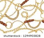 seamless baroque vector pattern ... | Shutterstock .eps vector #1294903828