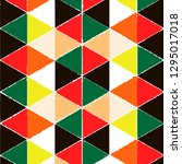 background geometric pattern... | Shutterstock . vector #1295017018