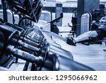 modern light gym. sports...   Shutterstock . vector #1295066962