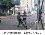 caracas  miranda venezuela  ...   Shutterstock . vector #1295077672
