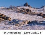 valley of stone spirits in the... | Shutterstock . vector #1295088175