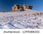 rocks in the baikal steppes | Shutterstock . vector #1295088202