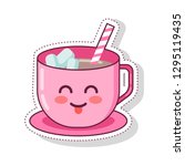 illustrations of food in the... | Shutterstock .eps vector #1295119435