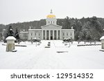 The Vermont Statehouse In...