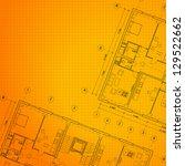 Architectural Orange Backgroun...