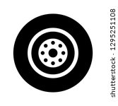 vector wheel icon  | Shutterstock .eps vector #1295251108