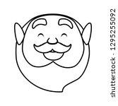 st patricks day leprechaun head ...   Shutterstock .eps vector #1295255092