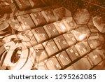 abstract computer background...   Shutterstock . vector #1295262085