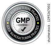 good manufacturing practice.... | Shutterstock .eps vector #1295267002
